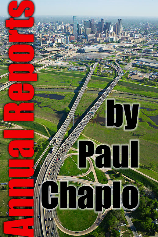 Annual Report Photographer Dallas Texas TX Digital Transportation Shipping Bridges Infrastructure Digital Urban City Annual Report Cities Skylines Aerial Helicopter Photography by Paul Chaplo